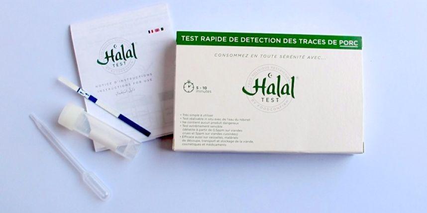 Halal Test un détecteur rapide d'alcool et de porc