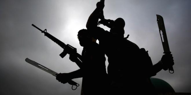 Des combattants de l'Etat islamique.