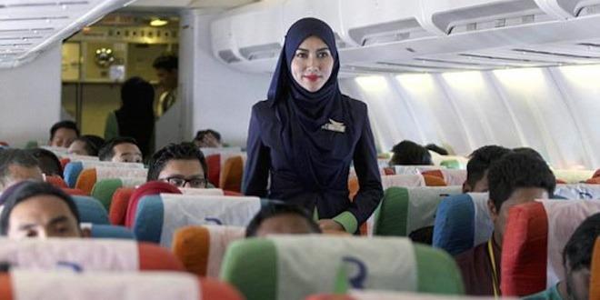 Compagnie aérienne, Une compagnie aérienne 100 % halal