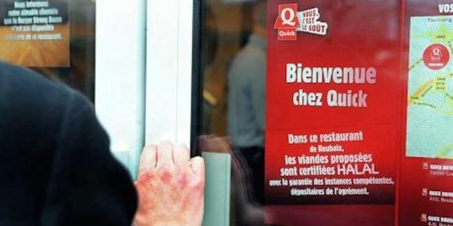 30 Quick proposent des menus halal en France.