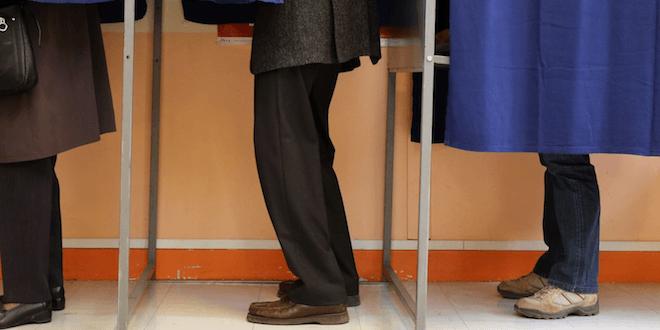 Le Front national, vainqueur des régionales 2015.