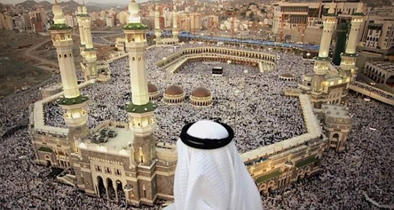 Le pèlerinage annuel en Arabie saoudite.