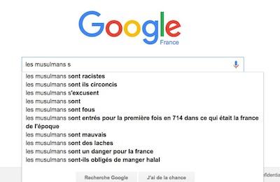 Google et les musulmans