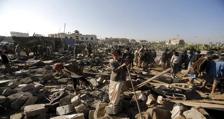 Le Yemen en guerre.