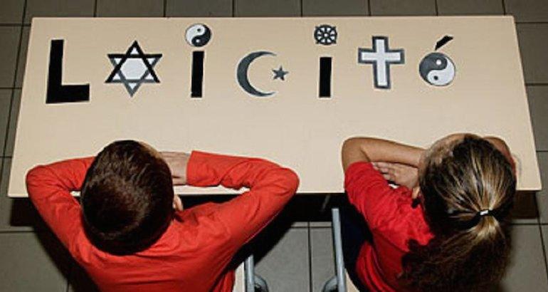 La laïcité en France.