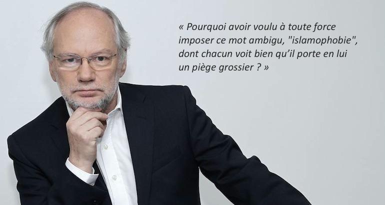 Le directeur de Libération, Laurent Joffrin.