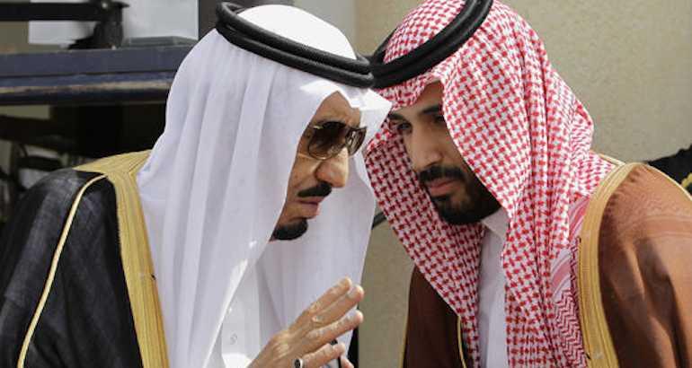 Le prince héritier d'Arabie saoudite.