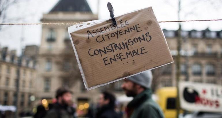 Le collectif Convergence des luttes a organisé une manifestation de 4 jours.