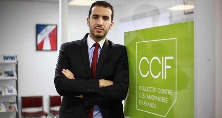 Le porte-parole du CCIF Yasser Louati.