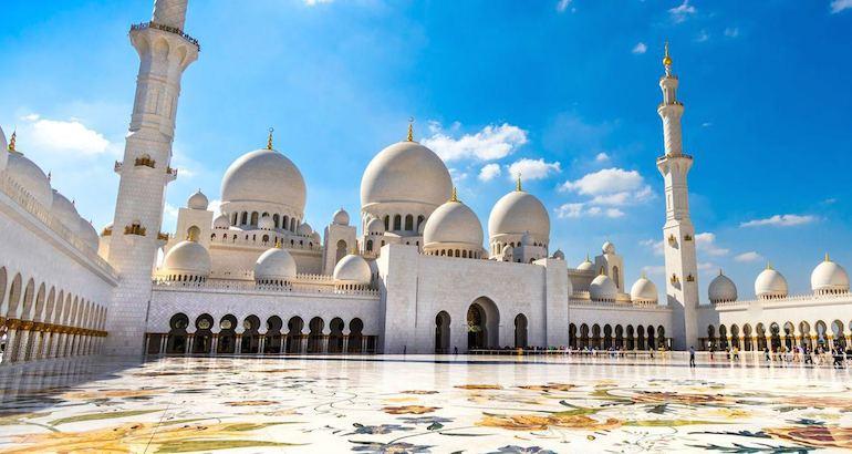 Une mosquée des Emirats arabes unis.