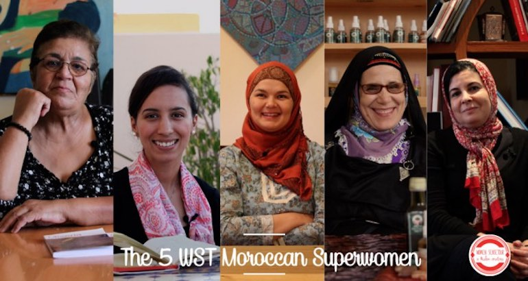 Rencontre avec cinq femmes marocaines