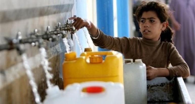 Un apartheid de l'eau en Cisjordanie.