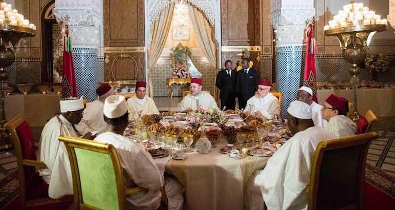 Mohammed VI à Fès.