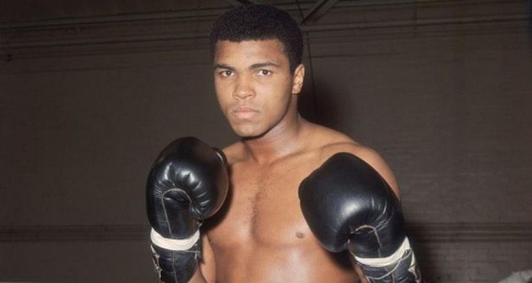 Le boxeur mohamed Ali