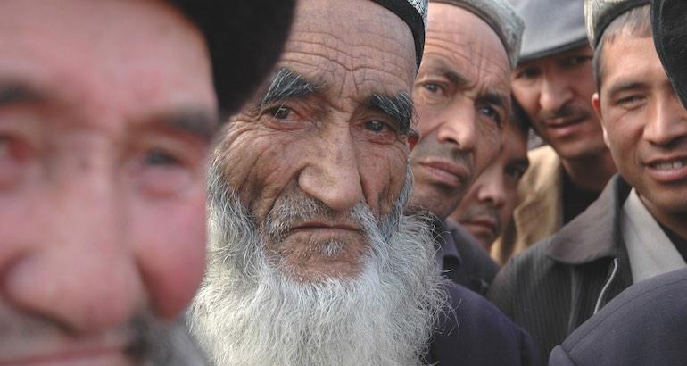 La communauté ouïghoure de Chine oppressée.