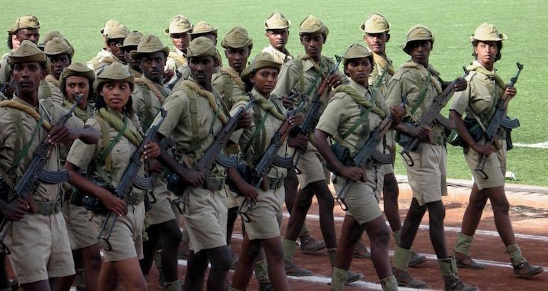 soldates érythréennes