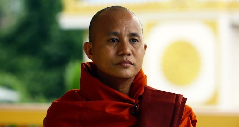un moine bouddhiste islamophobe