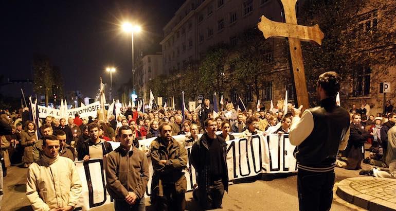 , Civitas veut «rechristianiser la France»