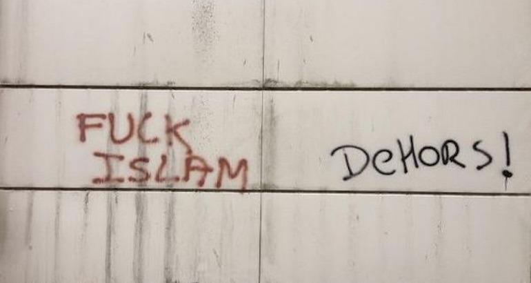 Les actes islamophobes en baisse en 2016.