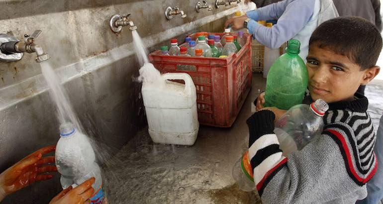 Coupures d'eau en Cisjordanie.