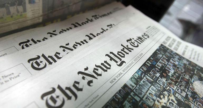 Le New York Times dénonce la police française.