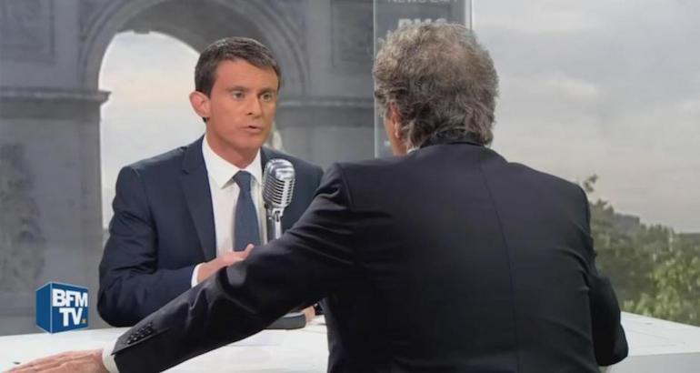 Manuel Valls explique que l'Islam est un problème.