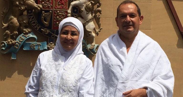 L'ambassadeur du Royaume-Uni et son épouse ont effectué le pèlerinage 2016 à la Mecque, suite à sa récente conversion.