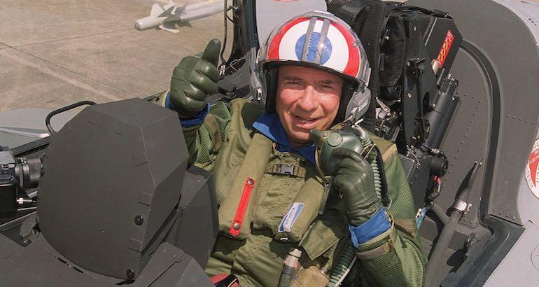 Le capitaine d'industrie Serge Dassault.