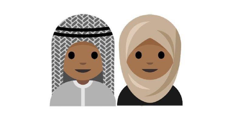 Les musulmans peu représentés par les émoticônes.