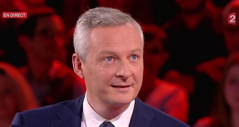 Bruno Le Maire dans L'émission politique sur France 2.