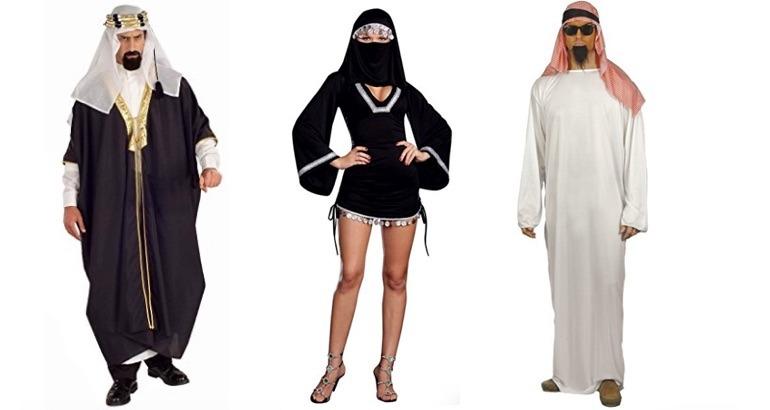Des déguisements de musulmans pour Halloween.