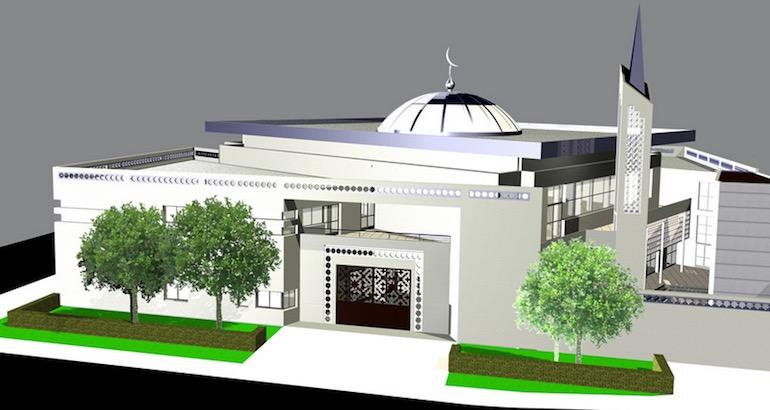 La future mosquée de Toulouse.