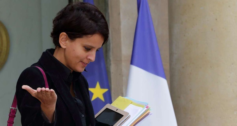 Najat Vallaud-Belkacem répond au pape François.