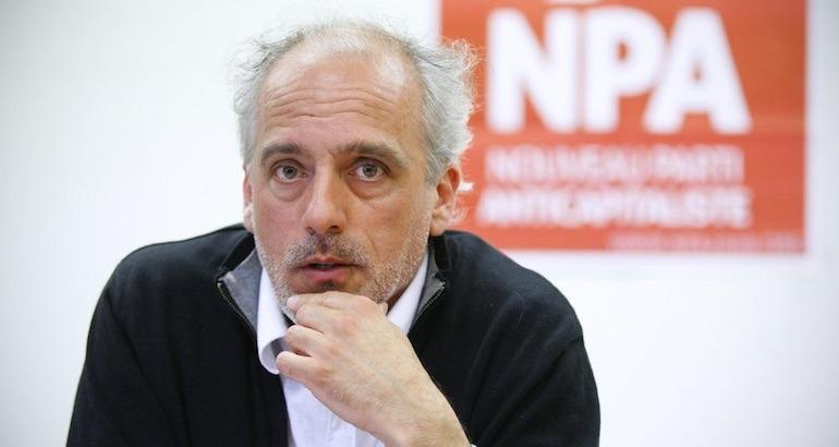 Le NPA dénonce les propos de François Hollande.
