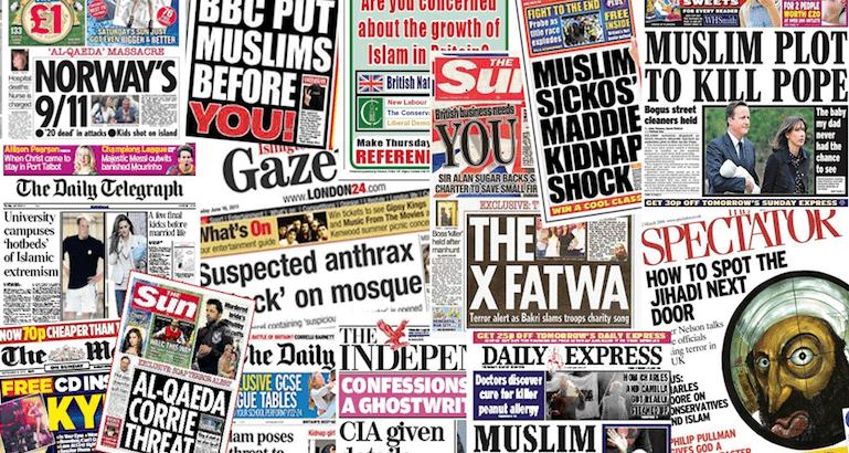 La publication d'une étude condamnant la presse britannique pour sa stigmatisation de l'islam ne changera pas grand chose.