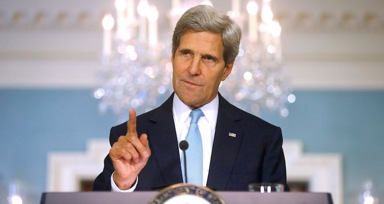 John Kerry critique Israel.