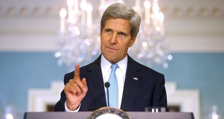 John Kerry critique Israel.