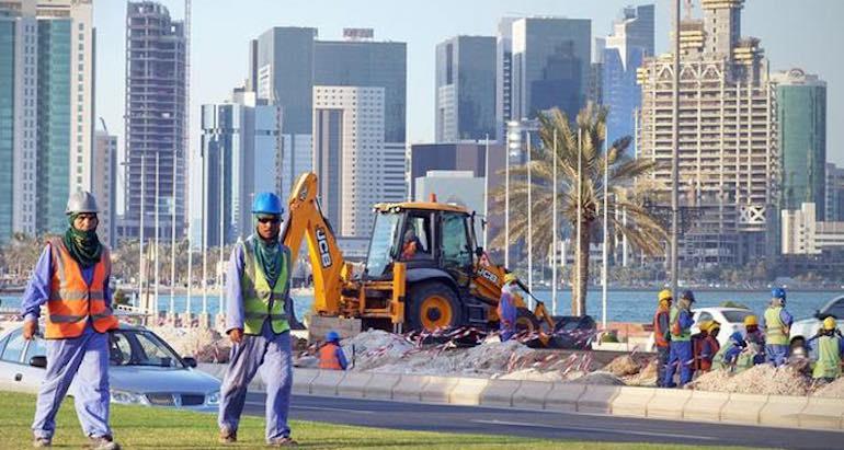 Esclavage au Qatar.