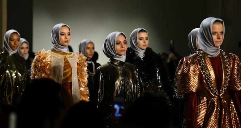 Mode islamique et hijab.
