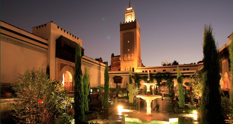 Grande Mosquée de Paris.