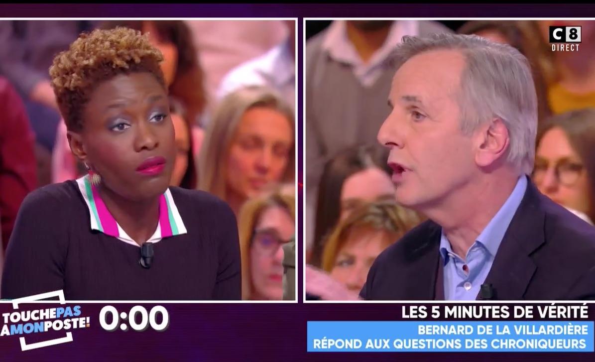 Polémique La Villardière-Diallo: Hanouna veut clore le débat