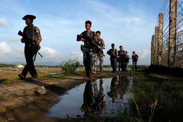 Sept soldats condamnés pour meurtre — Rohingyas