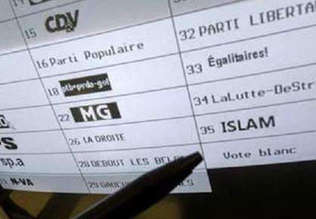 , Lionel Remy, cinq mois au cœur du parti belge ISLAM