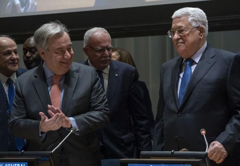 , A l'ONU, la Palestine va demander à être reconnue comme un Etat membre