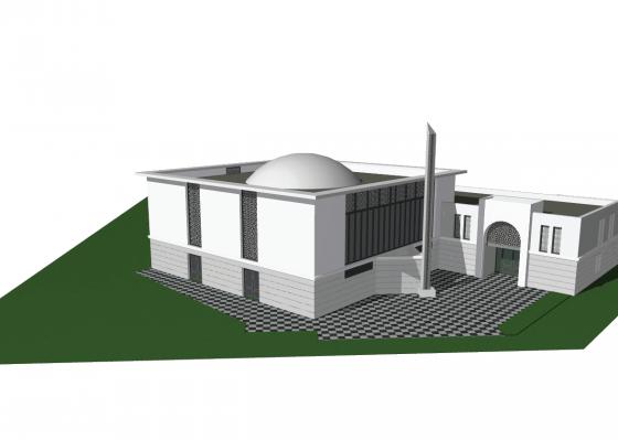 , La première pierre de la future mosquée toulousaine posée