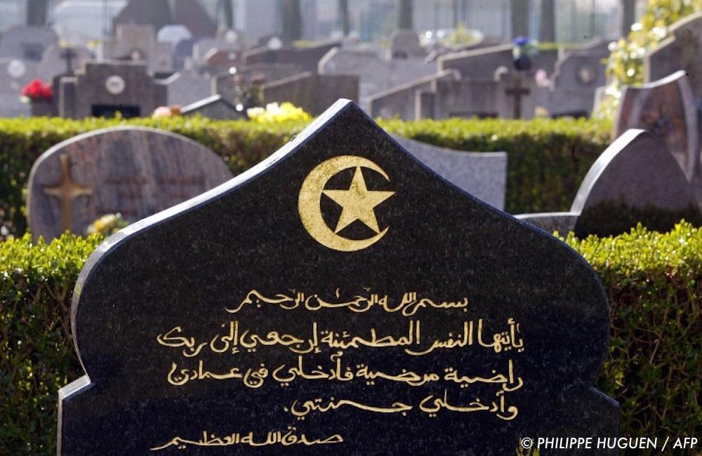 , Le carré musulman du cimetière de Draguignan vandalisé