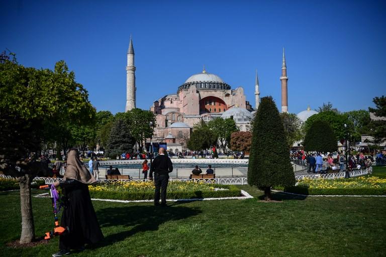 , Erdogan veut renommer l'ex-basilique Sainte-Sophie en «mosquée Sainte-Sophie»