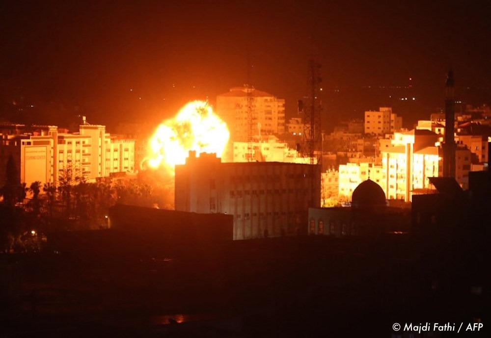 , A Gaza, malgré le cessez-le-feu, une nuit de bombardements israéliens