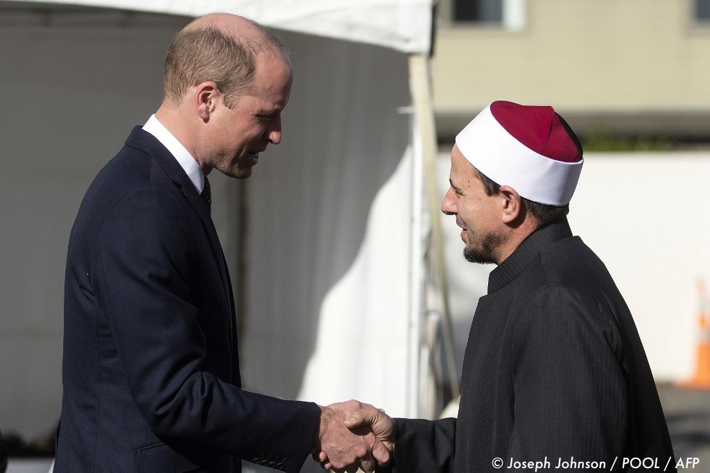, Le prince William rend visite aux survivants des attentats de Christchurch