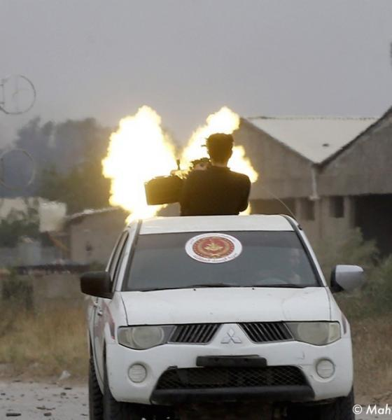 , Pays occidentaux et arabes appelle à un arrêt des combats en Libye